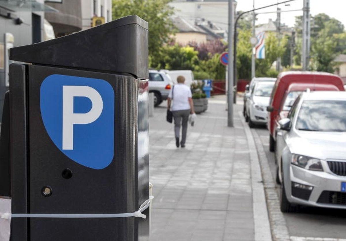 """Die """"Bäckertaste"""" kommt auch in Bettemburg zum Einsatz. Für zehn Cents darf man 30 Minuten lang parken."""