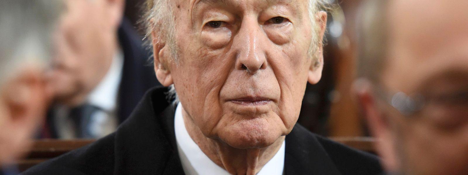 Giscard d'Estaing war von 1974 bis 1981 Präsident von Frankreich.