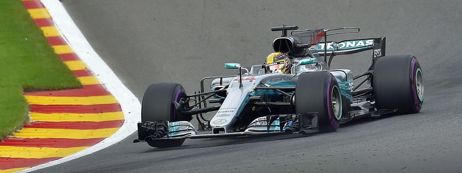 Der Triumph in Belgien war für Lewis Hamilton im Hinblick auf die Fahrerwertung von enormer Bedeutung.