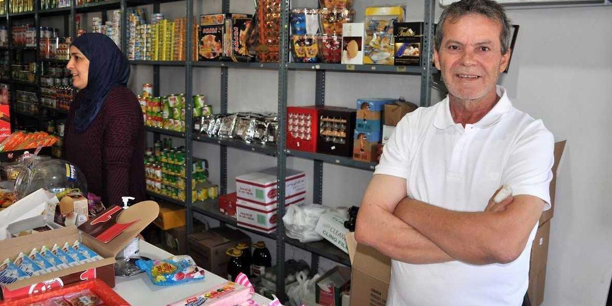 """Naji Ibraim nasceu em São Paulo e trocou o Brasil pelo Líbano """"por razões de segurança"""", porque """"no Brasil há mais violência""""."""