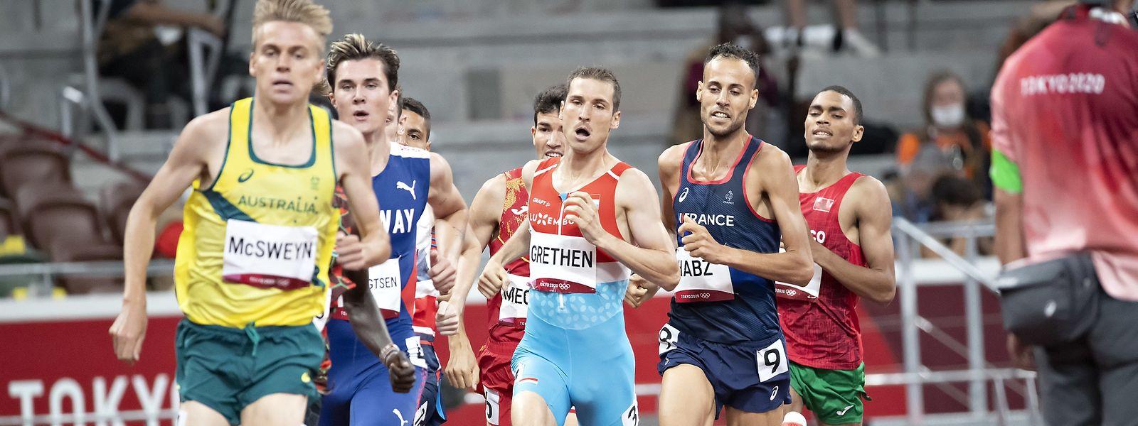 L'athlète luxembourgeois de 29 ans a terminé son épreuve en 3'32''86.