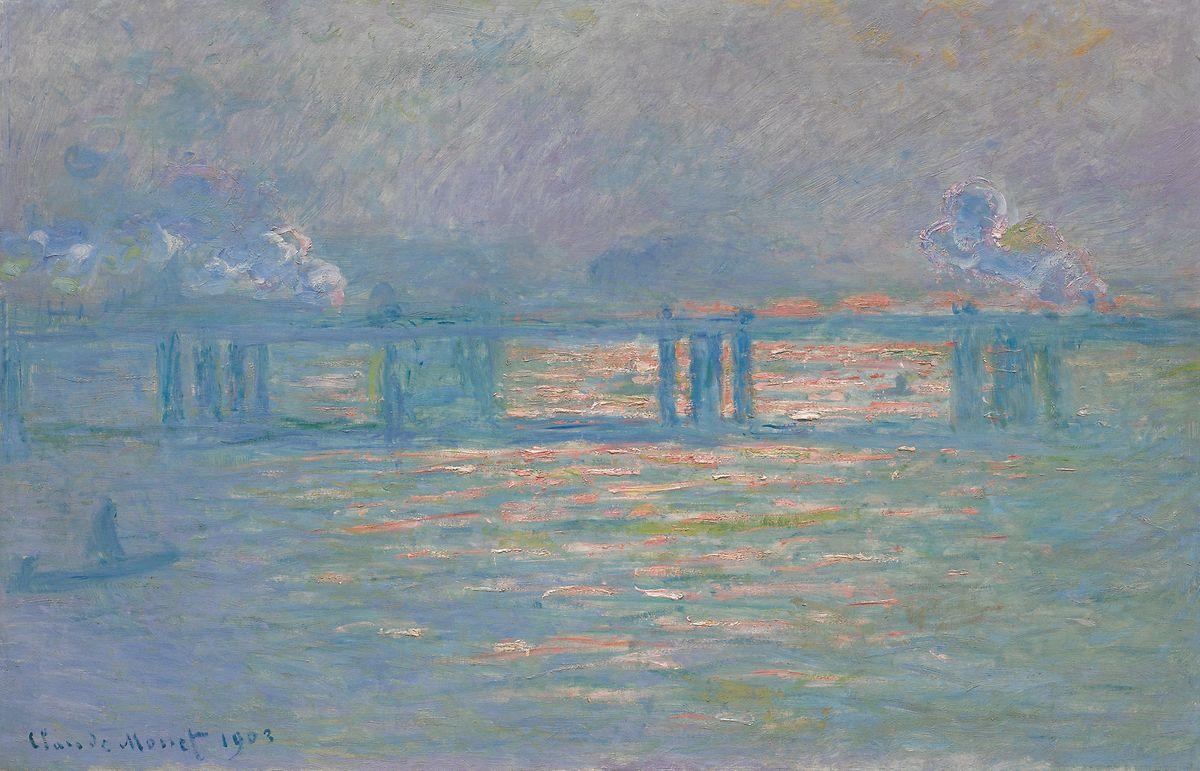 """""""Charing Cross Bridge"""" aus dem Jahr 1903."""