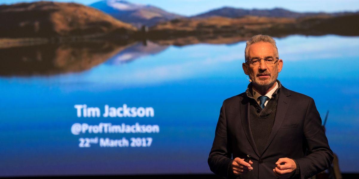 """Tim Jackson hielt einen Vortrag bei der """"SpringBreak""""."""