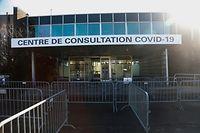 Landeschronik, Corona, Covid 19, Covid Konsultationszentrum, Test Covid, Sébastien Francais Foto: Anouk Antony/Luxemburger Wort