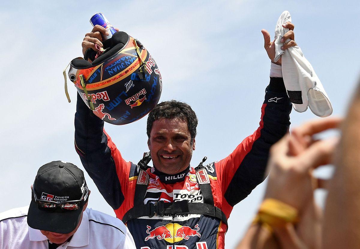 Troisième victoire au Dakar sur une... troisième marque différente, Toyota, pour le Qatari Nasser Al-Attiyah