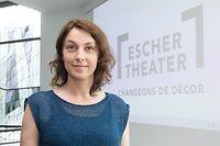Kultur , Theatre Esch/Alzette , PK Nouvelle Saison , Carole Lorang , Directrice Foto: Guy Jallay/Luxemburger Wort