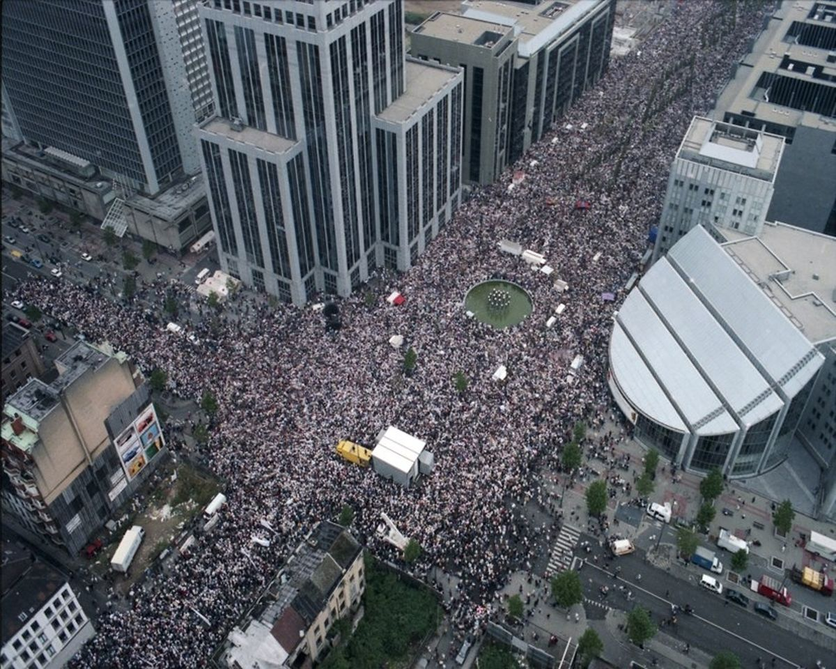 Une marche blanche avait réuni 350.000 Belges à Bruxelles en 1996.