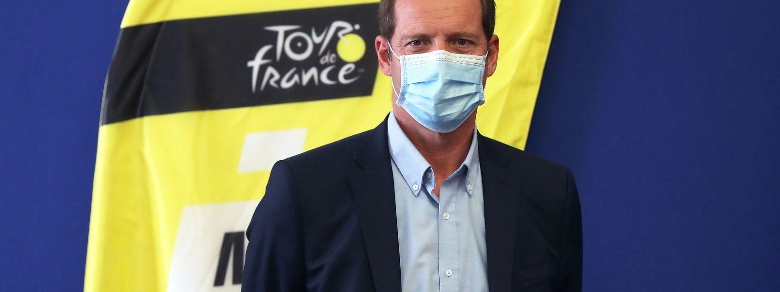 Christian Prudhomme que deverá juntar-se à caravana na próxima segunda-feira, será substituído na direção da prova por François Lemarchand.