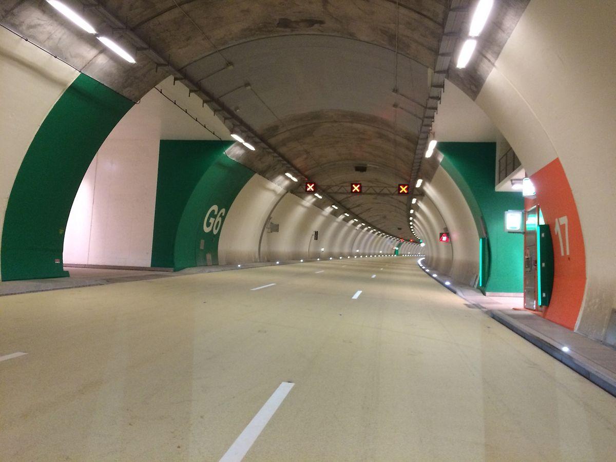 Der Tunnel Grouft: Vollgestopft mit Technik gehört er zu den modernsten Bauwerken seiner Art in der Welt.