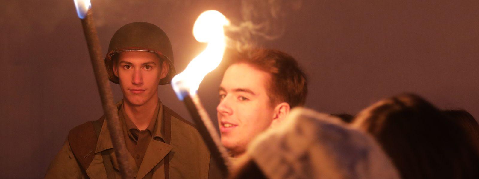 Osweiler erinnerte sich am Sonntagabend an die Ardennenoffensive.