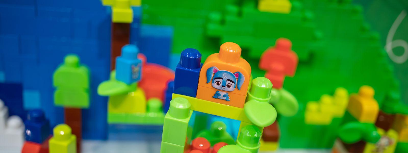 Die Bausteine sorgen für Spass - aber nur, wenn das Kind dadurch keiner Gefahr ausgesetzt ist.
