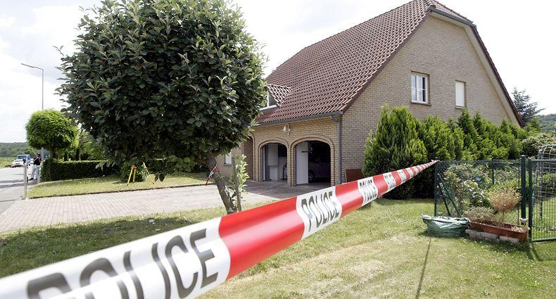 06.07.10 Dreifachmord in Flaxweiler.Tatort.Foto:Gerry Huberty