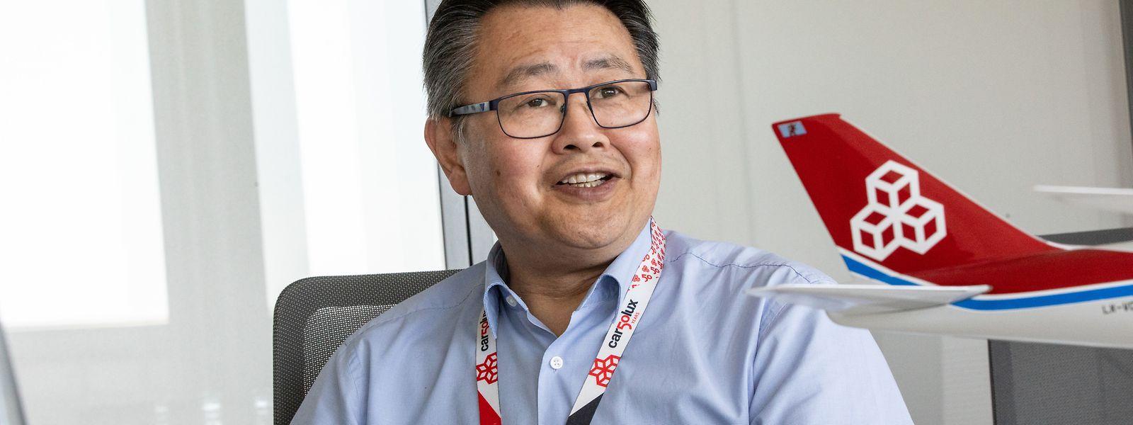 Cargolux-CEO Richard Forson über die Zukunft des Frachtverkehrs.
