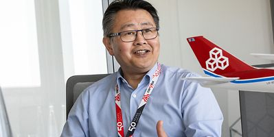Cargolux CEO Richard Forson discussed the company's future on Friday