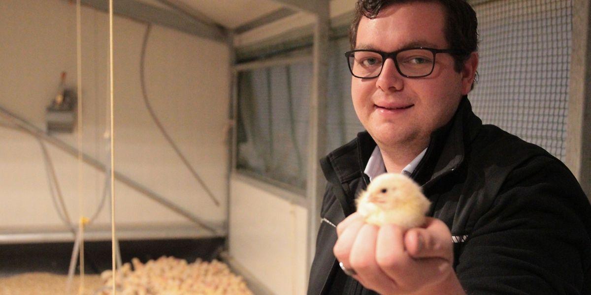 """Tom Jungblut ist einer der Mitbegründer von """"Lëtzebuerger Poulet""""."""