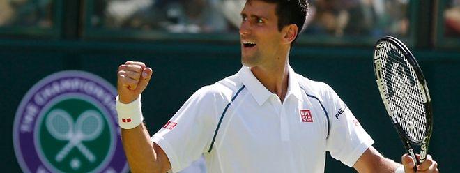 Novak Djokovic a réussi son entrée en matière à Wimbledon