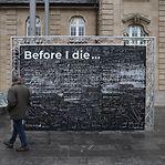 Sabe o que quer fazer antes de morrer? Escreva-o na Gare do Luxemburgo