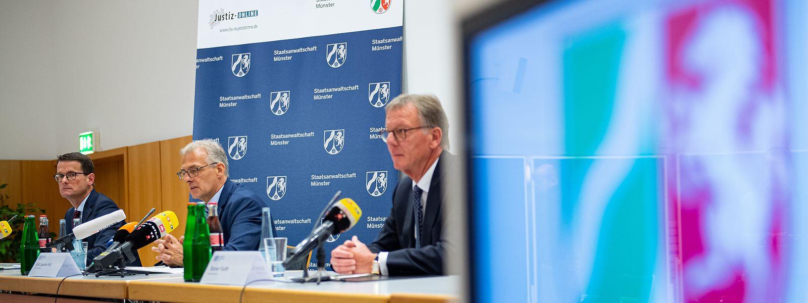Die Staatsanwaltschaft Münster informiert über die Taten.