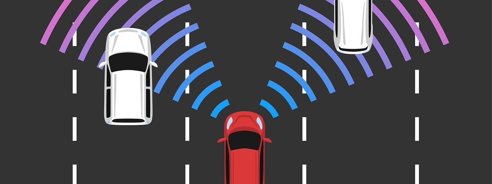 Die Sensoren autonomer Fahrzeuge erkennen nicht nur andere Gefährte, sondern etwa auch Fußgänger. Björn Ottersten und sein Team wollen sie noch smarter und aktiver machen.