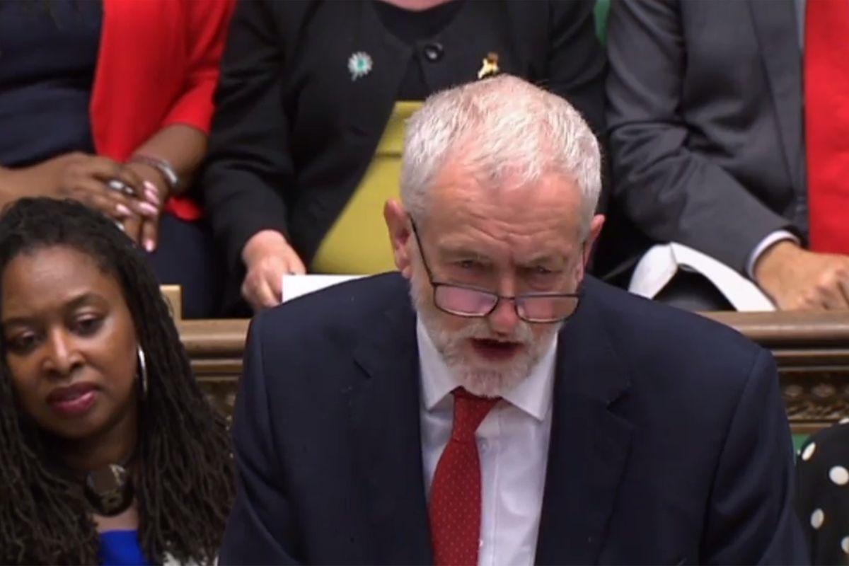 Oppositionschef Jeremy Corbyn.