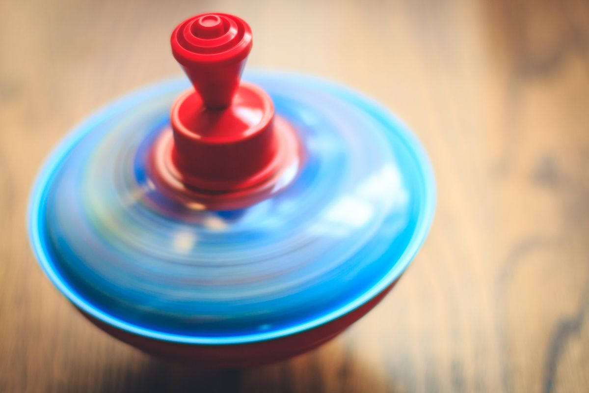 Spinning tops can make good stocking fillers Photo: shutterstock