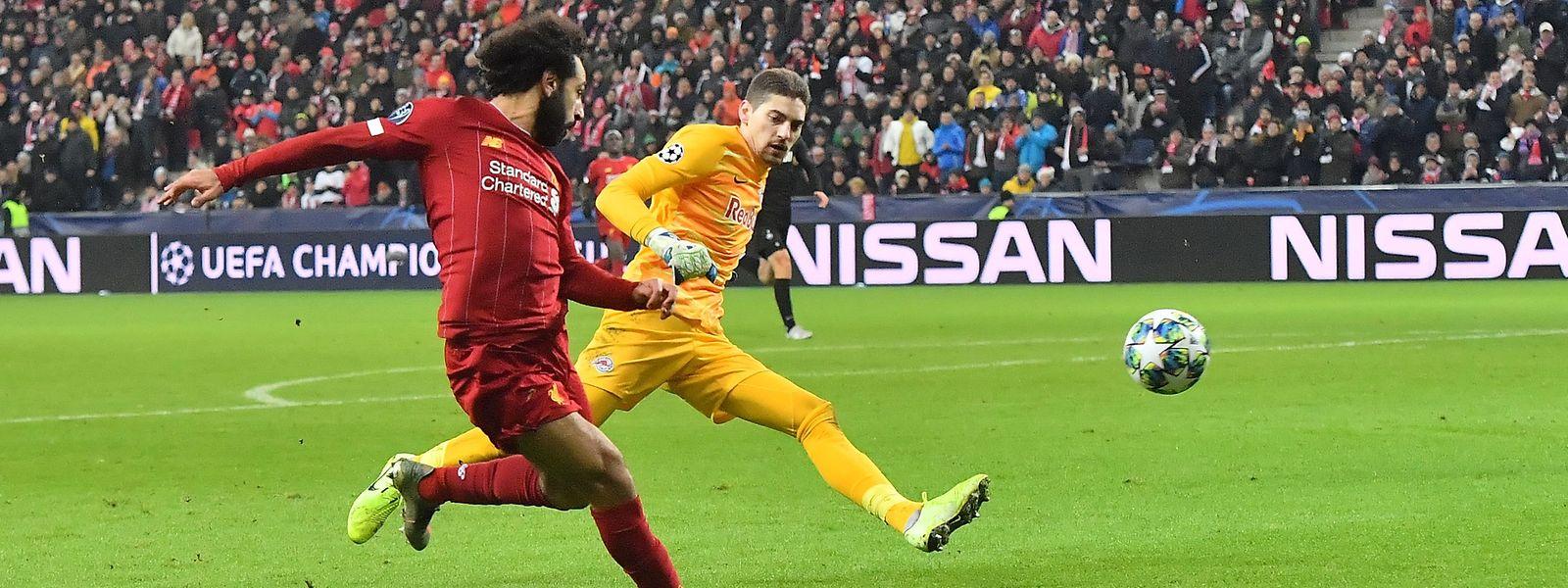 Mohamed Salah a inscrit un but de toute beauté, et Liverpool a dominé Salzbourg pour poursuivre sa route en C1.