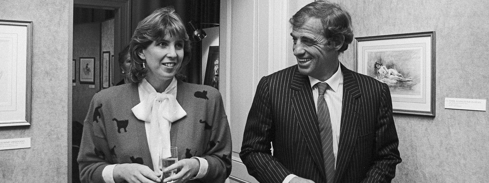 Lydie Polfer e Jean-Paul Belmondo