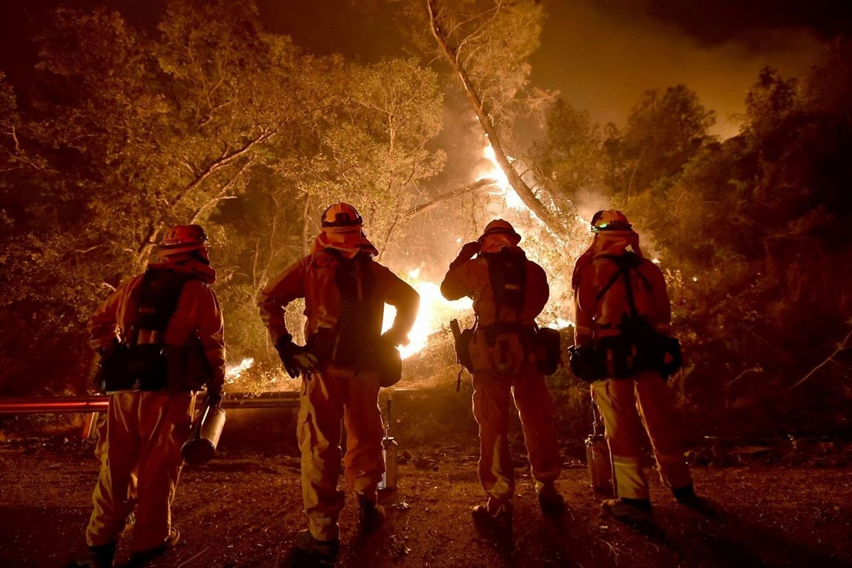 Les flammes dévorent la Californie