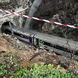 Um comboio intercidades que fazia a ligação de Guarda para Lisboa com 89 pessoas a bordo descarrilou hoje em Mortágua, não havendo para já feridos a registar, 04 março 2018.O descarrilamento na linha da Beira Alta aconteceu pelas 08:40 (hora de Lisboa) à entrada do túnel do Coval, em Mortágua, já depois da paragem em Santa Comba Dão.  NUNO ANDRÈ FERREIRA / LUSA