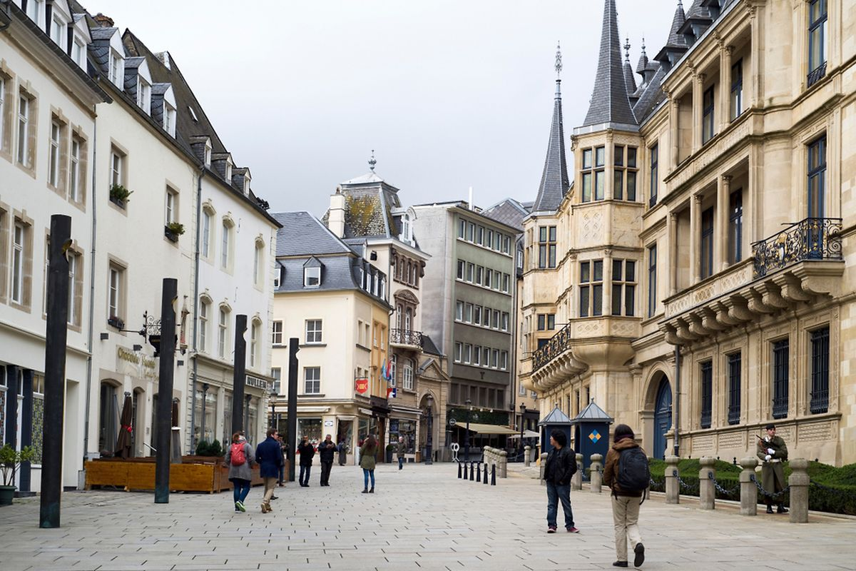 There are plenty of restaurants open in Luxembourg City on a Sunday Photo: Shutterstock