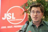 Georges Sold steht nach der Wahl am Samstag den Jungsozialisten vor.