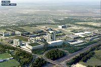 In etwa so könnte das neue Viertel in Zukunft aus der Luft aussehen.