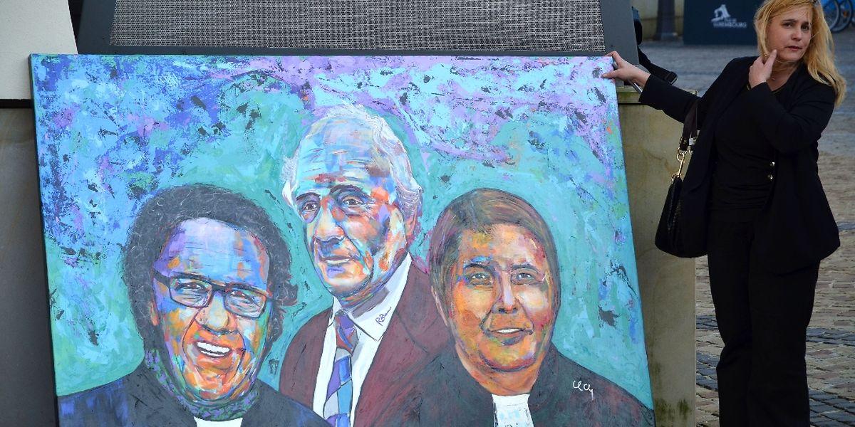 Vogel, Biever und Lorang aus Sicht des Künstlers.
