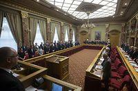 POL - Débats Budget 2019,  Schweigeminute Chamber, Foto: Chris Karaba/Luxemburger Wort