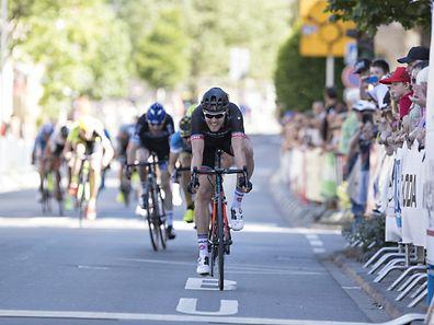 Casper Pedersen (174) / Radsport, Fleche du Sud, Zweite Etappe / 25.05.2017 /  Ruemelingen / Foto: Christian Kemp