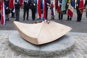 Journee de la commemoration nationale.Monument national de la Solidarite. Kanounenhiwel.Foto:Gerry Huberty