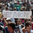 Für die Europäer stellt die Einwanderung das wichtigste Problem auf europäischer und auf nationaler Ebene dar.