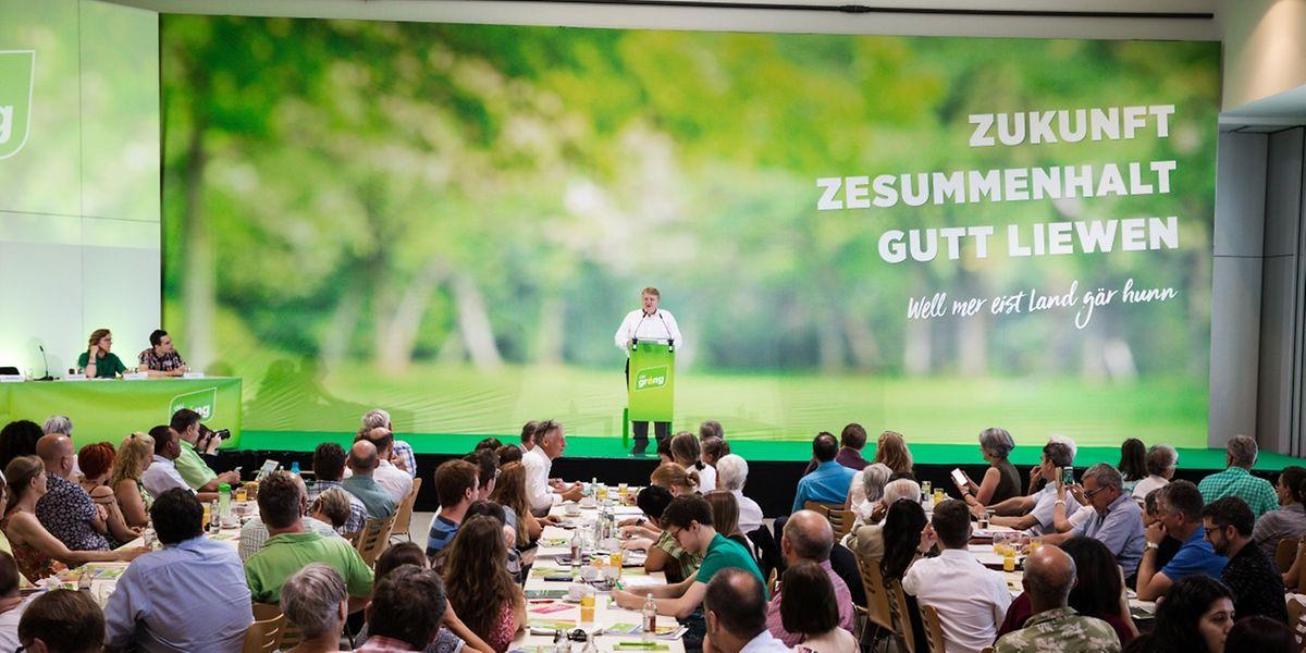 Das Wahlprogramm der Grünen steht ganz im Zeichen der Nachhaltigkeit.