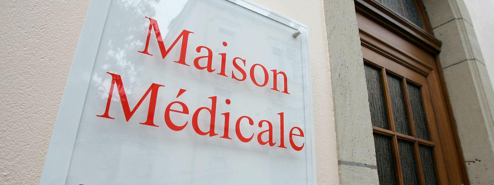 """Die """"Maisons Médicales"""" sollen zur Erstaufnahme der Covid-19-Patienten genutzt werden."""