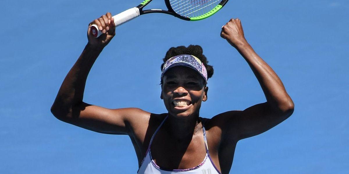 Venus Williams est dans le dernier carré mais ne veut pas se contenter de ça!