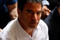 """(FILES) In this file photo taken on April 30, 2017 director of the Mossad Yossi Cohen attends an event for the dedication of a new memorial wall for Israel�s fallen servicemen and women, at Mount Herzl in Jerusalem. - Israel's Mossad spy agency chief Yossi Cohen visited the United Arab Emirates for security talks, Emirati state media reported on August 18, 2020, days after the countries agreed to establish diplomatic ties. Cohen discussed """"cooperation in the fields of security"""", regional developments and other topics with the UAE's national security advisor, Sheikh Tahnoun bin Zayed Al Nahyan, in Abu Dhabi, reported the official WAM news agency. (Photo by GALI TIBBON / AFP)"""