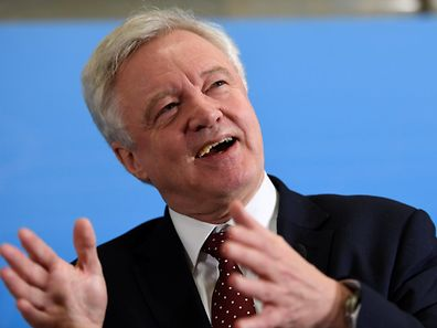 British Secretary of State for Exiting the European Union, David Davis