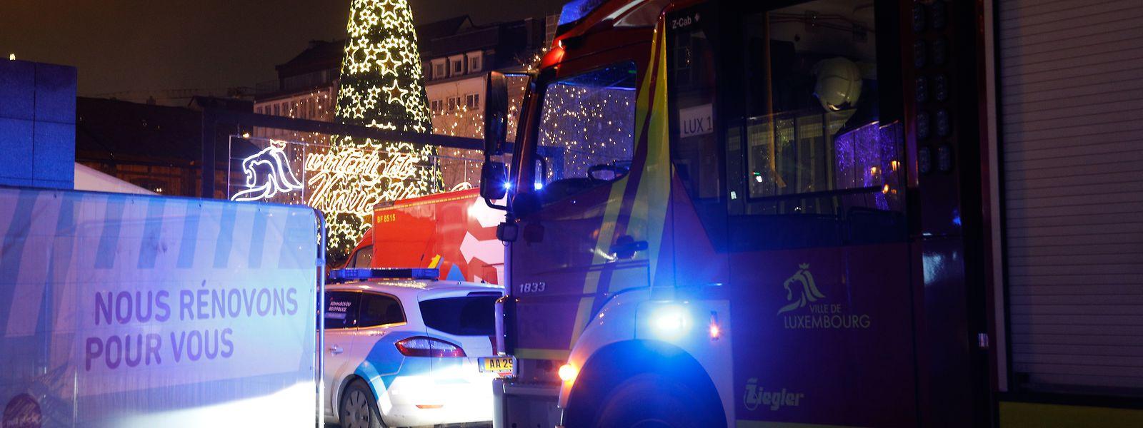 Der Knuedler war am Sonntagabend nach dem Unfall evakuiert und abgesperrt worden.