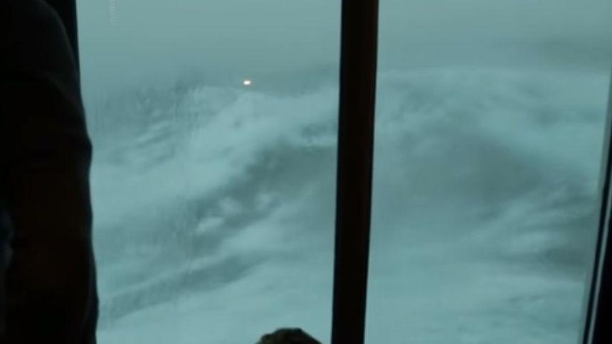 Ein Blick aus dem Fenster, der nur für Mutige zu empfehlen ist.