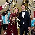 Andy Schleck and Jil Delvaux get married