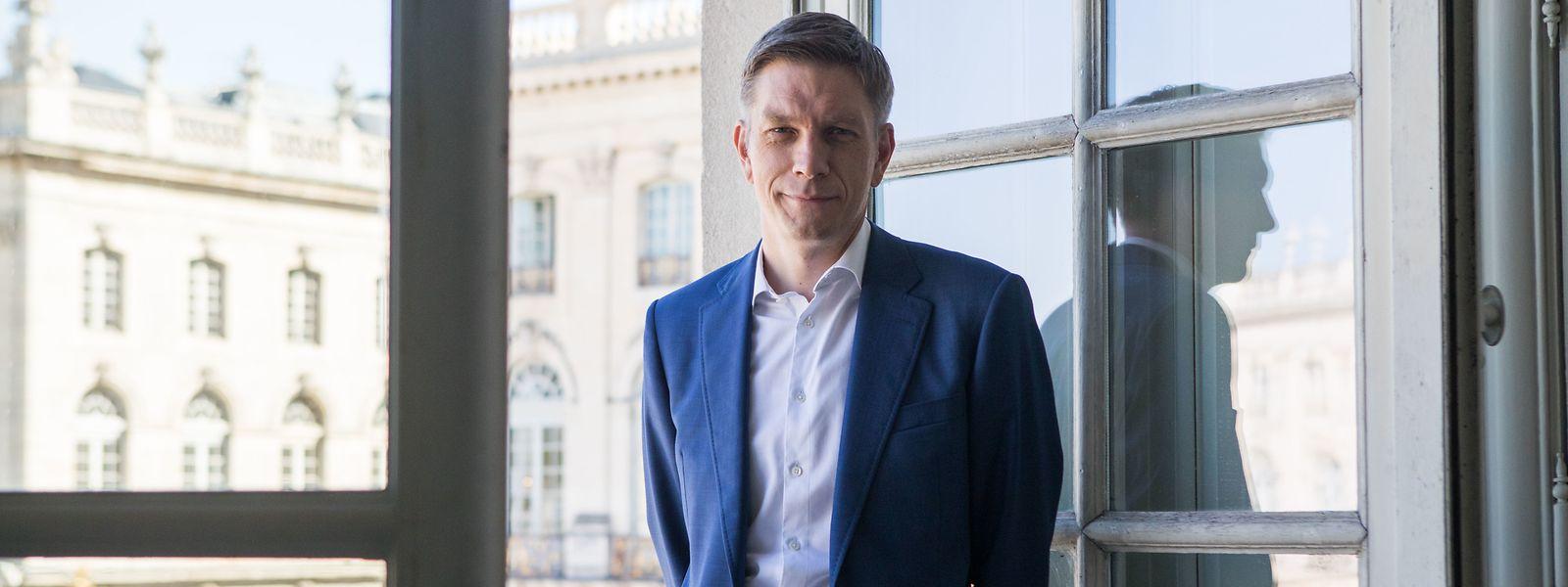 Pour permettre à la Lorraine de continuer à jouer un rôle, Mathieu Klein plaide pour une collaboration plus poussée au sein du sillon lorrain.