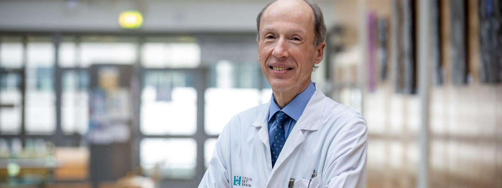 Die Virusausbreitung weltweit erfolgt hauptsächlich durch ungeimpfte Personen und sie sind es auch, die schwer erkranken, sagt Dr. Gérard Schockmel.