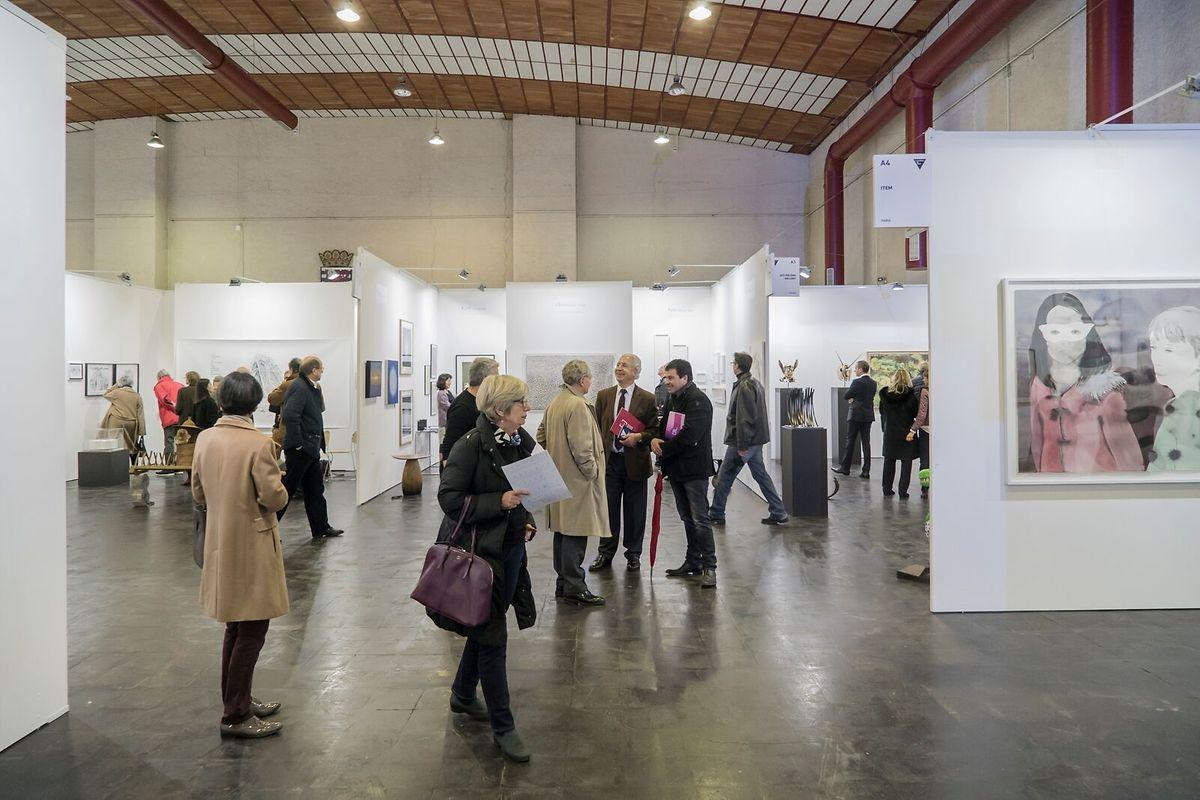La Luxembourg Art Week 2016 a attiré 12.000 visiteurs.