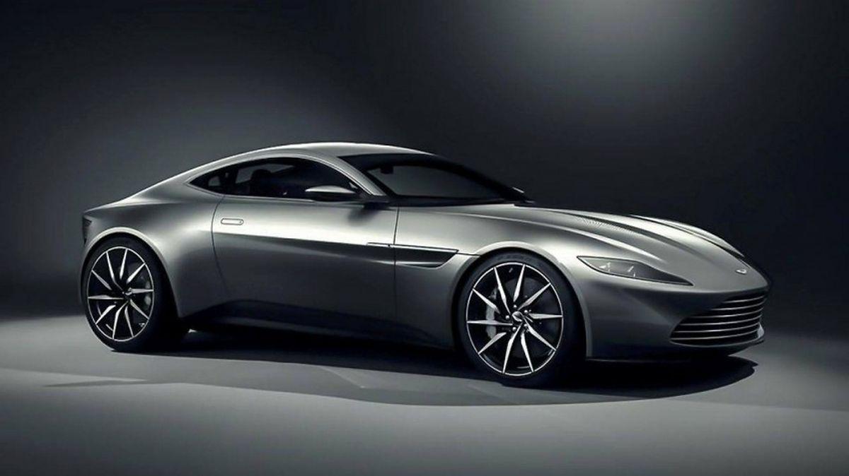 Von dem Aston Martin DB10 wurden nur zehn Exemplare gebaut, davon acht für die Dreharbeiten von Spectre.