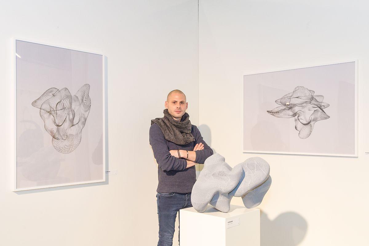 "Pit Molling ist der Preisträger des diesjährigen ""Prix Révélation""."